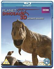 Planet Dinosaur 3D Ultimate Killers Blu-Ray ( Brand New & Sealed )