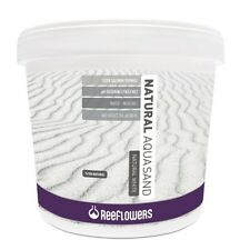 Reeflowers Natural Aqua Sand White 0.5mm to 1mm 25kg Freshwater Aquarium Fish