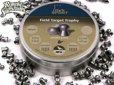 .177 H&N Field Target Trophy Air Rifle Pellets Tin of 500
