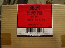 2050RC ROLLER CHAIN EXTENDED PITCH NEW IN BOX #2050 10 FT ROLL 96 LINKS