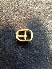 baume & mercier gold tone 8 mm yellow buckle Genuine