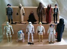 VINTAGE KENNER 1978-84 STAR WARS ACTION FIGURES 79 FIGURE COMPLETE LOT