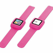 4 x New Griffin GB02197 Slap Flexible Wristband For iPod Nano 6G - Pink