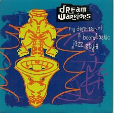 "45 TOURS / 7"" SINGLE--DREAM WARRIORS--MY DEFINITION OF A BOOMBASTIC--1990"