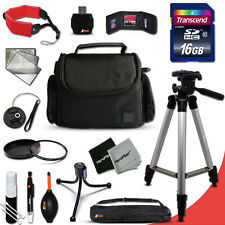 Ideal ACCESSORIES Kit f/ Canon EOS 6D w/ 16GB Memory + Padded Case + MORE