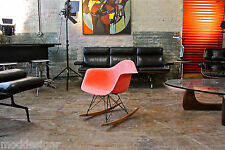 HERMAN MILLER EAMES VINTAGE 1950's ZENITH 2ND GENERATION ARM SHELL ROCKER RAR