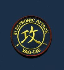 VAQ-136 GAUNTLETS Electronic Attack US NAVY Grumman EA-6B Prowler Squadron Patch
