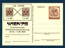 AUSTRIA - Cart. Post. - 1975 - 125° anniversario dei francobolli austriaci  -  B