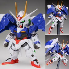 NXEDGE Style MS Unit 00 Gundam + 0 Raiser Set Anime Figure Bandai Japan