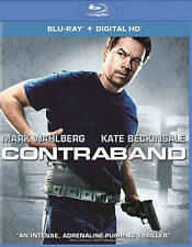 Contraband Blu-ray disc/case/cover only-no digital- 2015 Mark Wahlberg prev view
