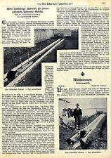 Dr.A. Gradenwitz Erfindung des ital. Ingenieurs Guiseppe Bartolomei Schleuse1909