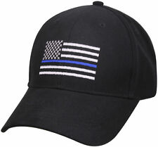 Support Police Sheriff Law Enforcement THIN BLUE LINE Baseball Hat Cap 99885