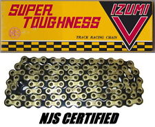 Izumi V Super Toughness Gold & Black Track Bike Chain NJS Keirin Approve USAship