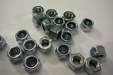 M10 NYLOCK NUTS (10mm SELF LOCKING NUTS 10 PACK)
