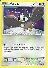 POKEMON CARD XY BREAK THROUGH - STARLY 125/162