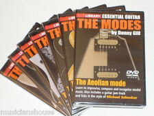 7 DVD SET LICK LIBRARY The LOCRIAN AEOLIAN LYDIAN DORIAN IONIAN MODES GUITAR Jam