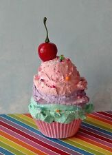 Pastel Candy Fake Cupcake, Candy Sprinkles, Photo Props, Birthday Party Decor
