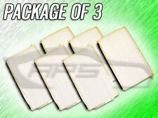 C35550 CABIN AIR FILTER FOR 2001 2002 MAZDA MILLENIA - PACKAGE OF THREE