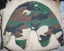 M1 STEEL POT WOODLAND CAMO HELMET COVER US - REPRODUCTION NEW MADE