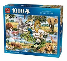 1000 Piece Jigsaw Puzzle - WILD ANIMALS Endangered Safari Wildlife 05481