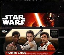 2015 Topps Star Wars Force Awakens Series 1 Special Edition Hobby Box