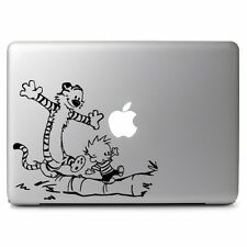 Calvin and Hobbes Funny Time for Macbook Pro Air Laptop Car Window Decal Sticker
