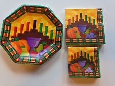 Kwanzaa Plates & Napkins Holiday Paper Party Products