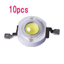 10pcs 1W High Power Epistar Chip 3V LED White Diodes Lamp Beads Grow Light