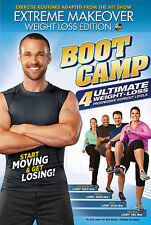 Extreme Makeover: Weight Loss Edition - Boot Camp (DVD, 2013) VG@