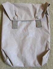 WWII GERMAN M31 GAS MASK CAPE CARRY BAG-RUBBERIZED
