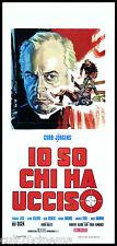 IO SO CHI HA UCCISO LOCANDINA CINEMA 1970 DER PFARRER ST. PAULI PLAYBILL POSTER