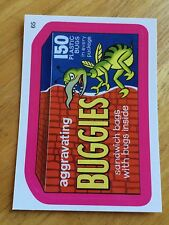 2008 WACKY PACK FLASHBACK PACKAGES PINK PARALLEL STICKER BUGGIES 65 LOST BUGS