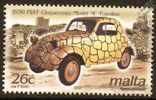 1936 FIAT TOPOLINO Cinquecento Model A Car Automobile Mint Stamp
