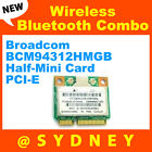 Broadcom BCM94312HMGB Wireless & Bluetooth Combo Half-Mini Card PCI-E WLAN