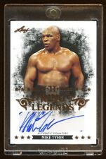 MIKE TYSON 2013 LEAF AUTOGRAPH SP AUTO *RING LEGENDS*  RARE FIND  HOF  BEAUTIFUL