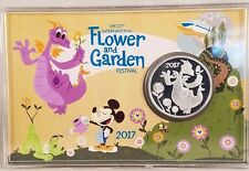 Disney Parks Epcot Flower and Garden 2017 Figment Passholder Collector Coin