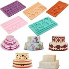 Silicone Fondant Embossing Mold Mould Sugarcraft Baking Tools Cake Decoration