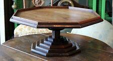 TOP RAR ETAGEN AUFSATZ TISCH - MASSIV HOLZ ARBEIT - ART DECO TOWER TABLE