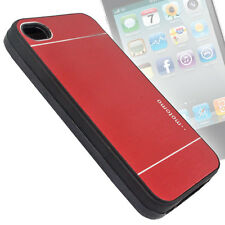 Aluminum Metal HARD Back Case Cover Pouch For iPhone 4 G 4S 4G 4GS - BI66