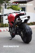 Protect Mud Splash Guard Rear Tire Hugger Ducati Monster 796 2014-15 ABS Strong