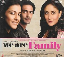 WE ARE FAMILY - BRAND NEW BOLLYWOOD SOUNDTRACK CD - FREE UK POST