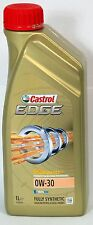 CASTROL EDGE 0W-30 PETROL/DIESEL FULLY SYNTHETIC ENGINE OIL -  1 LTR