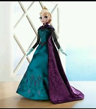 "Disney Store Frozen Coronation Elsa 17"" Doll Limited Edition 5000 LE New"