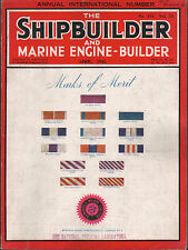 the shipbuilder & marine engine - builder. april 1945. launching of ships