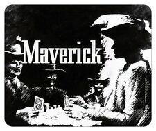 MAVERICK  MOUSE PAD. JAMES GARNER. WB TV LOGO.....NEW