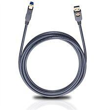 OEHLBACH 9220 USB 3.0 Superspeed Kabel Cable Stecker A auf B bis zu 5Gbit/s 1,5m
