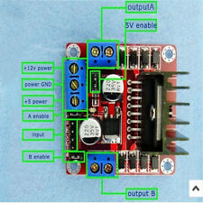 L298N Dual H Bridge  Motor Driver Controller Board Module RED Useful