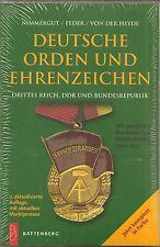 Deutsche Orden und Ehrenzeichen, Drittes Reich, DDR und BRD