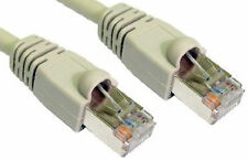 20m RJ45 Ethernet Cable CAT 6a Shielded Snagless Patch LAN Network Lead GREY