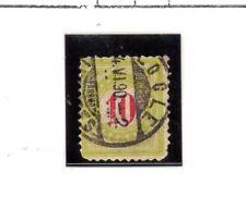 Suiza valor de tasas del año 1883 (BN-64)